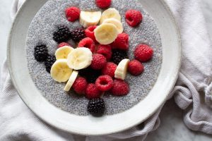 BLE Bright Line Eating Chia Pudding