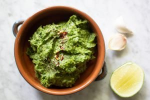 cilantro avocado lime dip Bright Line Eating