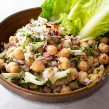 Chickpea Salad Bright Line Eating