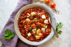 shakshuka with tofu