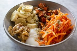 Grain Free Sweet Potato Bowl