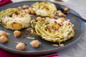 roasted cabbage steaks